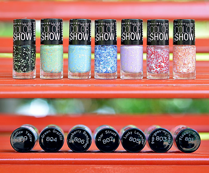 Best Makeup & Beauty Products 2015 Maybelline Colorshow Go Graffiti Nail Paints Review