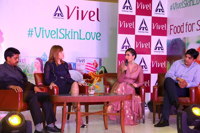Brand Ambassador Kareena Kapoor At Vivel Event Delhi