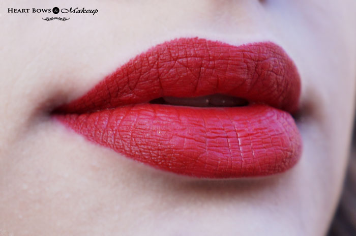 Faces Ultime Pro Matte Lip Crayon Midnight Rose Swatches Review