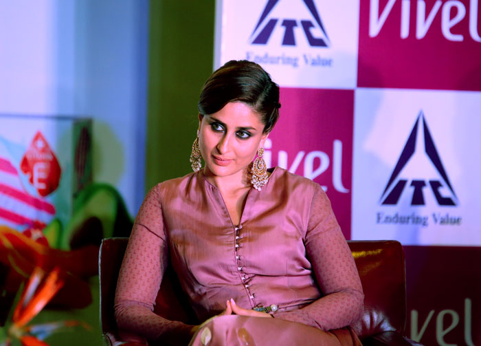 Kareena Kapoor Khan At ITC Vivel Event New Delhi