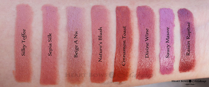 Best Brown Lipsticks For Warm Skintone By Loreal Paris Heart Bows