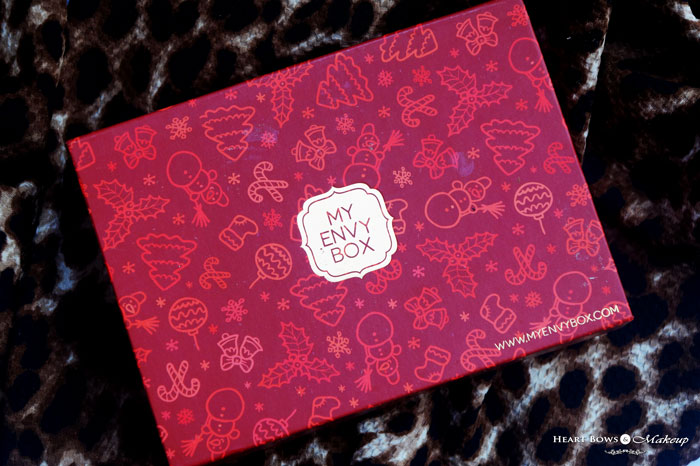 My Envy Box December 2015 Review Products Samples