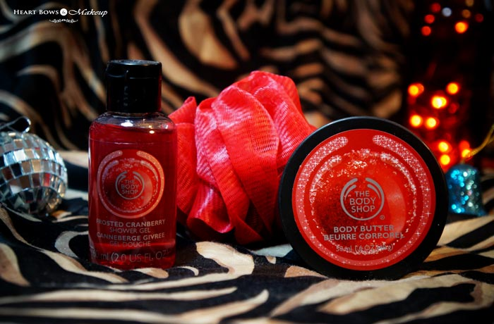 TBS Cranberry Gift Set Products Review