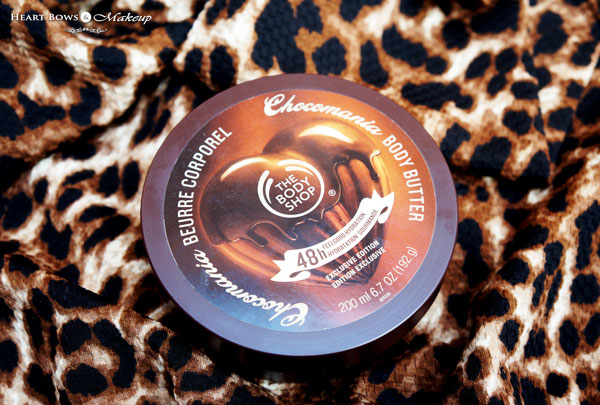 The Body Shop Chocomania Body Butter Review Price Buy Online India