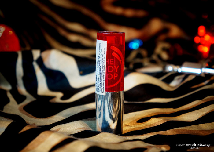 The Body Shop Color Crush Lipstick 225 Review Swatch Price India