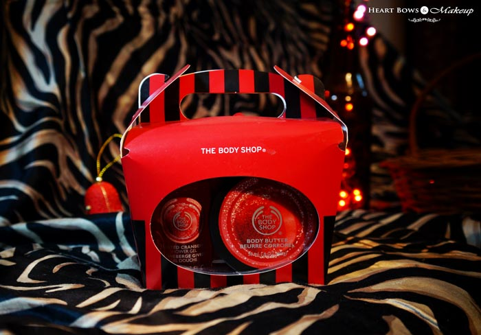 The Body Shop Cranberry Joy Gift Set Review Products Price India