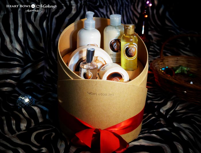 The Body Shop Shea Deluxe Gift Set Review Products Price India