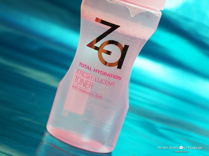 ZA Total Hydration Fresh Lucent Toner Review
