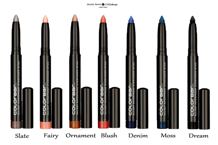 Colorbar All Day Waterproof Eyeshadow Stick Review Swatches Price Buy Online India