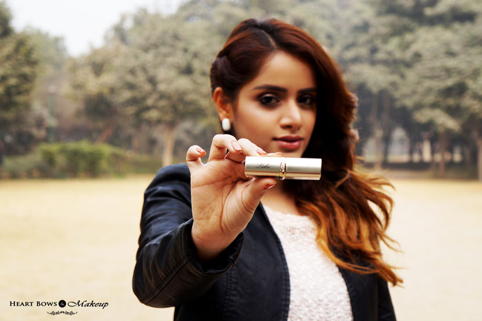 Indian Beauty Blog L'Oreal Paris Personalized Lipstick