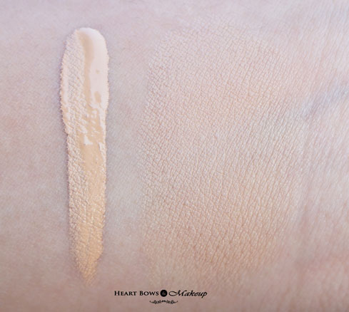 Maybelline Fit Me Concealer 20 Sand Swatches Review