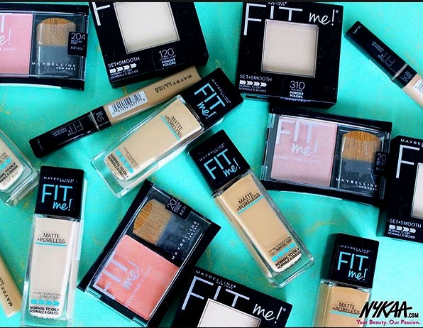Maybelline Fit Me Range India Review Swatches & Price