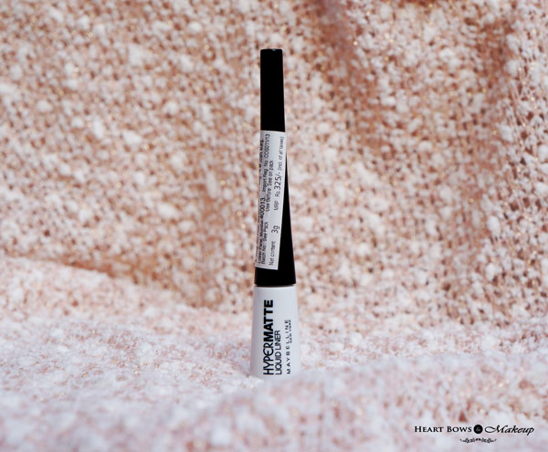 Maybelline HyperMatte Liquid Liner Review Swatches Price Buy Online India