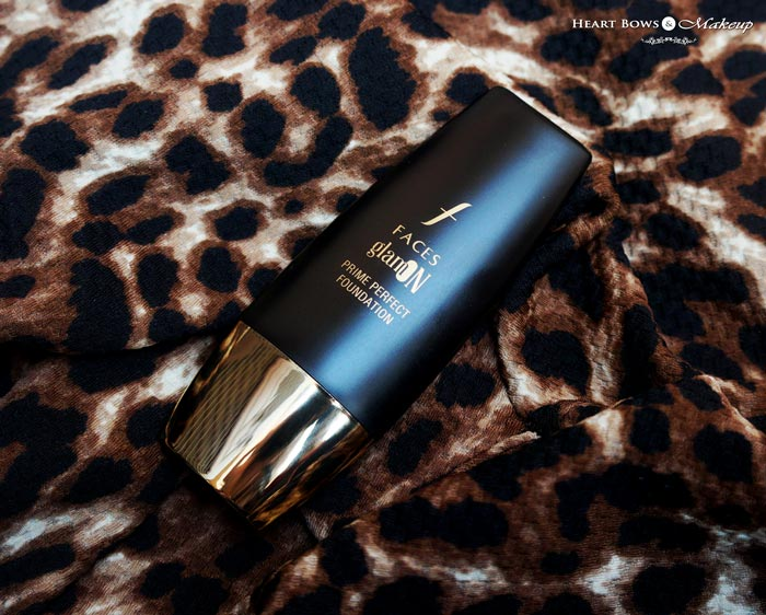 Best Foundation For Oily Skin Faces Glam On Prime Perfect Foundation Review