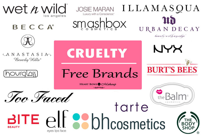 Cruelty Free Brands Makeup Cosmetics Products Not Tested On Animals