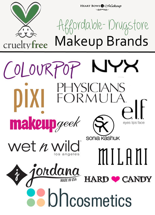 Cruelty Free Cosmetics Makeup Brands Affordable & Drugstore UK