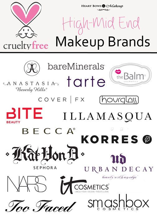 cruelty free brands makeup drugstore skincare haircare heart bows makeup. Black Bedroom Furniture Sets. Home Design Ideas