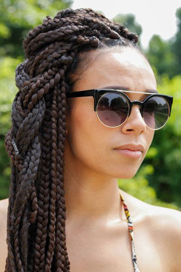 Superb How To Plait Big Braids Braids Short Hairstyles For Black Women Fulllsitofus