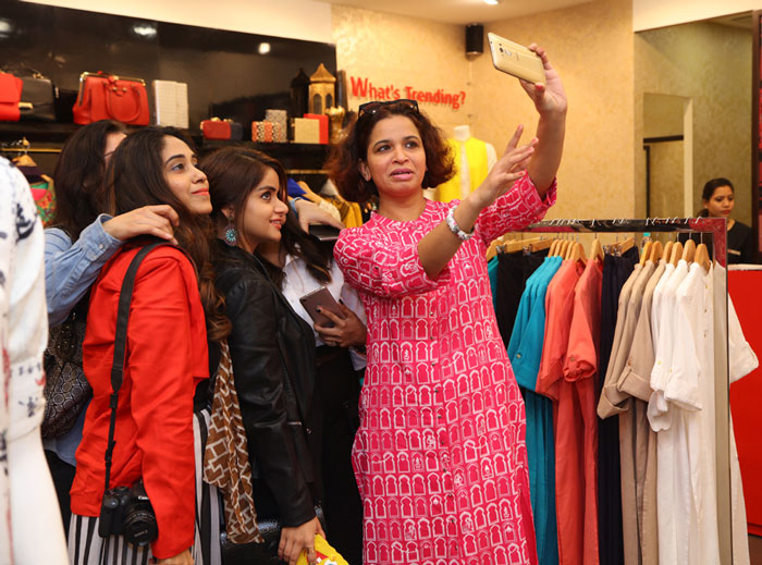 Delhi Fashion Bloggers At W For Woman Spring Summer Collection Preview