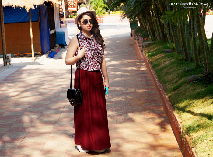 Indian Fashion Blog How To Style A Crop Top