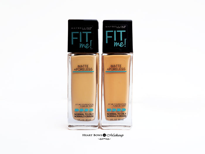 Maybelline Fit Me Matte + Poreless Foundation 128 230 Review Swatches Price Buy Online India