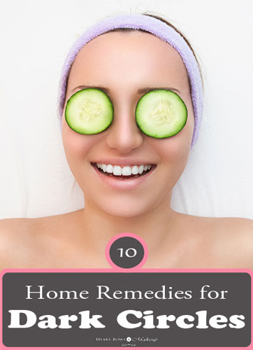 Natural Home Remedies For Dark Circles