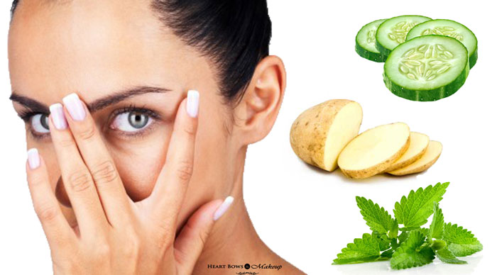 Natural Home Remedies For Dark Under Eyes