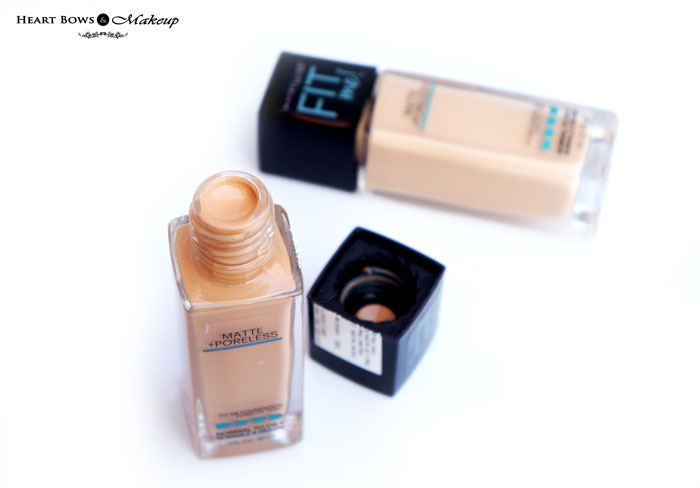 New Maybelline Matte + Poreless Foundation Review Buy India