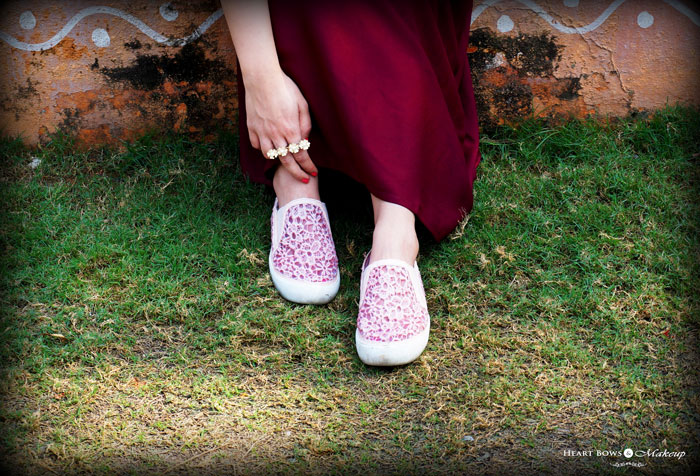 Stylish Pink Loafers By Intoto Indian Fashion Blogger