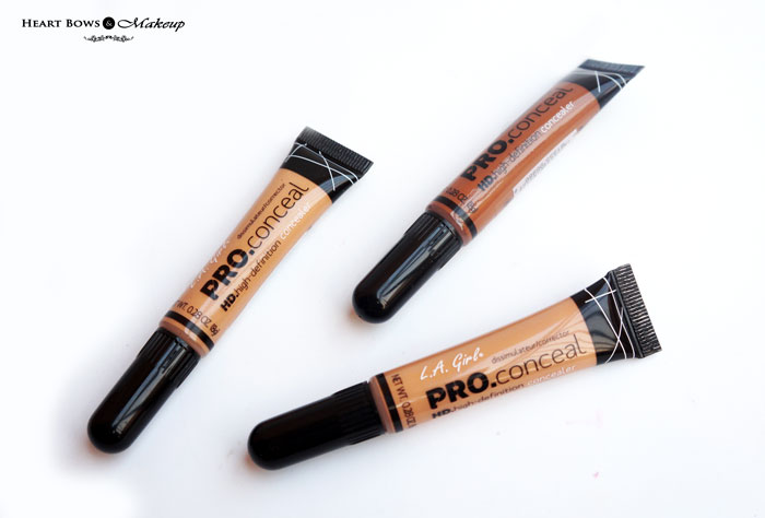 Best Affordable Concealer LA Girl Pro HD Concealer Review Swatches Buy Online India