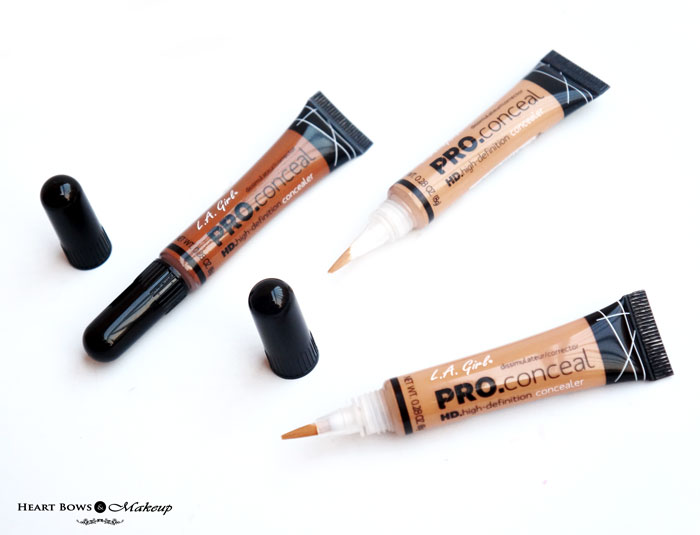 L.A. Girl Pro Conceal HD Concealers Review Swatches
