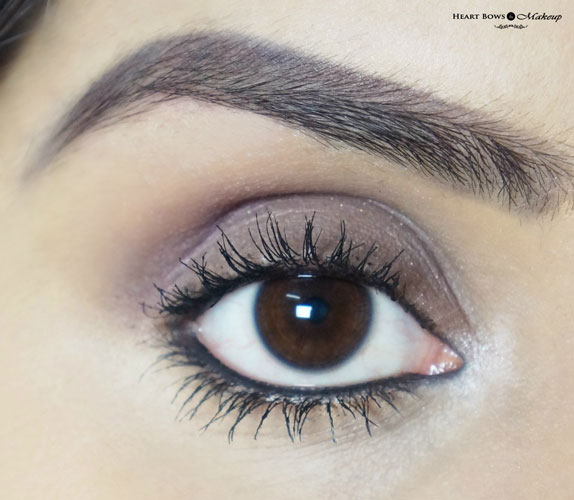 New Maybelline The Colossal Kajal Super Black Swatches Review On Eyes EOTD