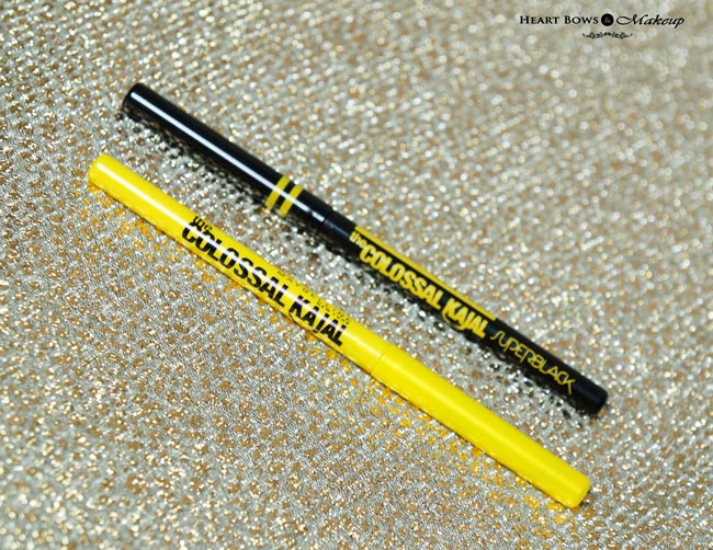New Maybelline The Colossal Super Black Kajal Vs Old Maybelline Colossal Kajal Review