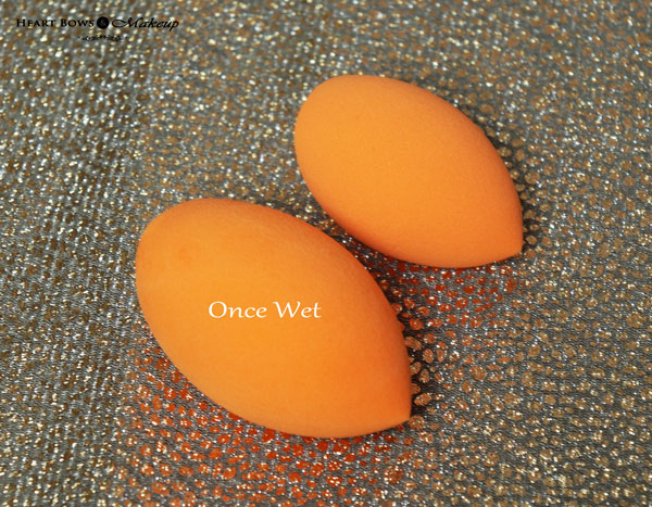 Real Techniques 2 Minute Miracle Complexion Sponge Review Wet Dry Comparison