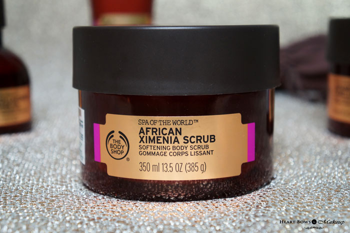 The Body Shop African Ximenia Scrub Review Price Buy Online India