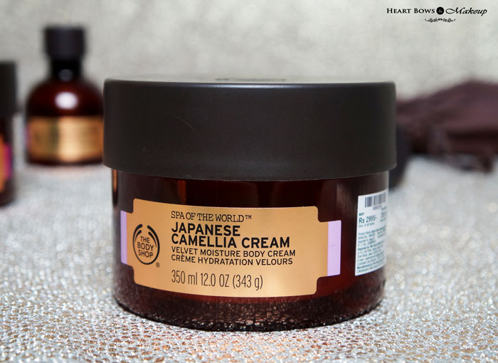 The Body Shop Japanese Camellia Cream Review Price Buy Online India
