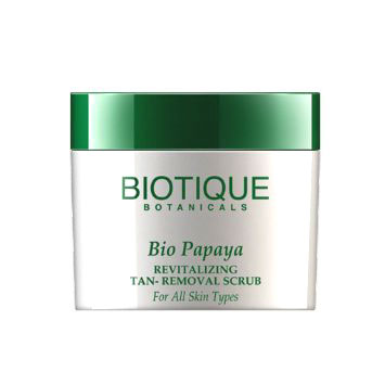 Affordable Face Scrub For Oily Skin In India Biotique Papaya Scrub Review