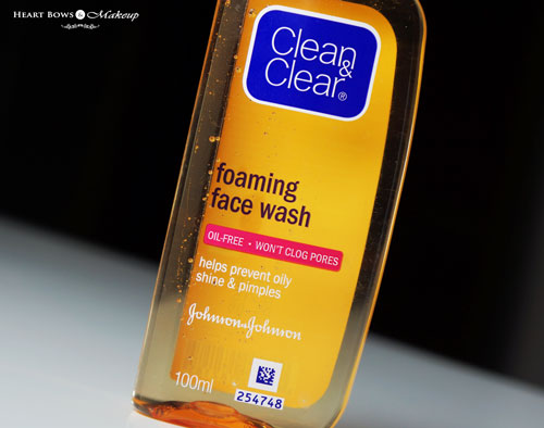 Best Face Wash For Oily Skin Clean And Clear Foaming Face Wash Review