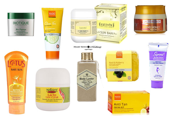 Best Sun Tan Removal Products India Affordable Top 10