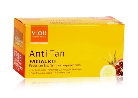 Best Sun Tan Removal Products India VLCC Facial Kit Review