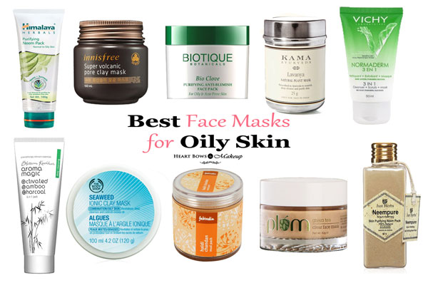 Best Face Mask For Oily Skin In India Acne Prone