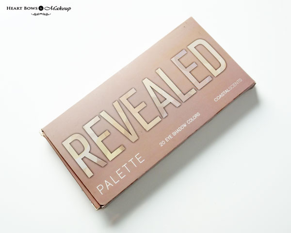 Coastal Scents Revealed Palette Review Swatches Price Buy Online