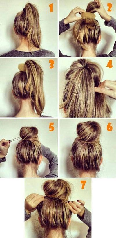Easy Big Voluminous Bun Tutorial For Summers