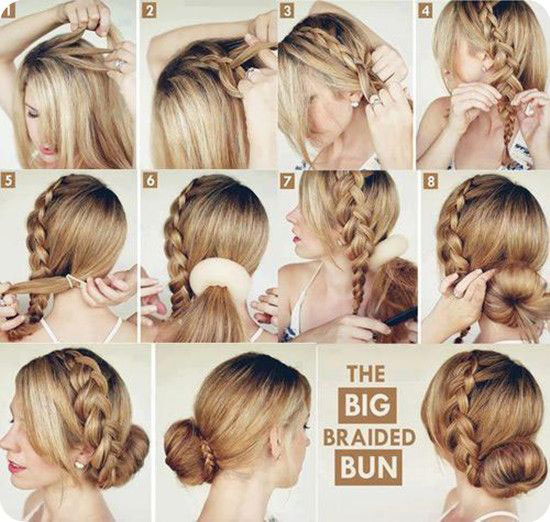 Easy Bun Hairstyle Tutorials For The Summers: Top 10! - Heart Bows ...