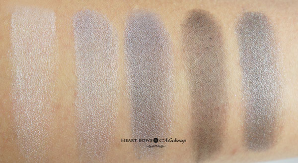 Faces Cosmetics Stackables Zebra Swatches Review