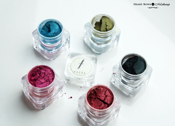 Faces Sparkle Dust Stackables Whish Review Swatches Price Buy Online India