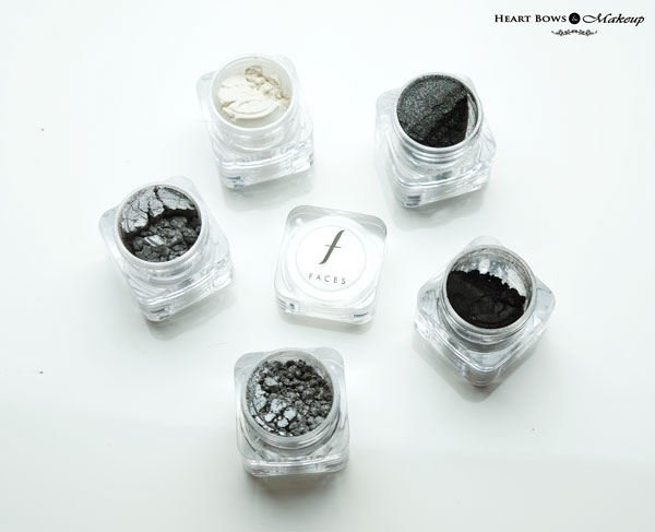 Faces Sparkle Dust Stackables Zebra Review Swatches Price Buy Online India