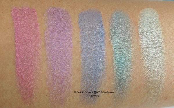 Faces Stackables Wild Swatches Review
