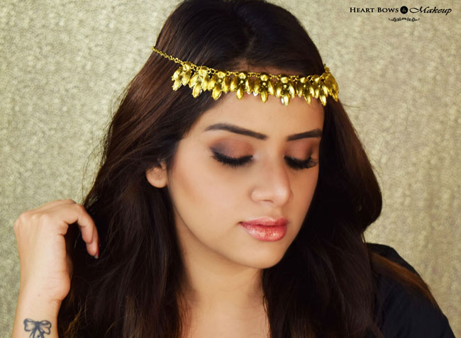 Indian Makeup Blogger Brown Smokey Eye Makeup Tutorial
