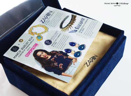 My Envy Box Nimai Jewelry Box Review Products Price